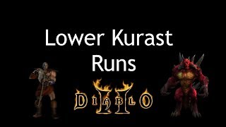 Diablo 2 - Lower Kurast Runs w/Barbarian