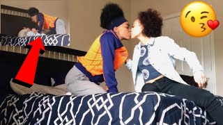 I CANT STOP KISSING YOU PRANK!   Kayla and Sye
