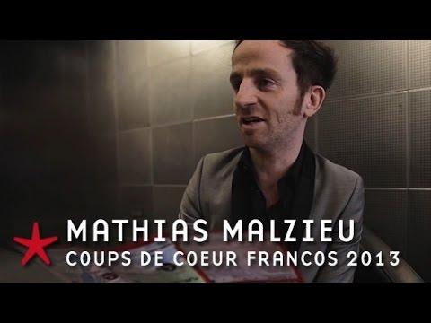 Francofolies 2013 / Mathias Malzieu (interview Coups de coeur)