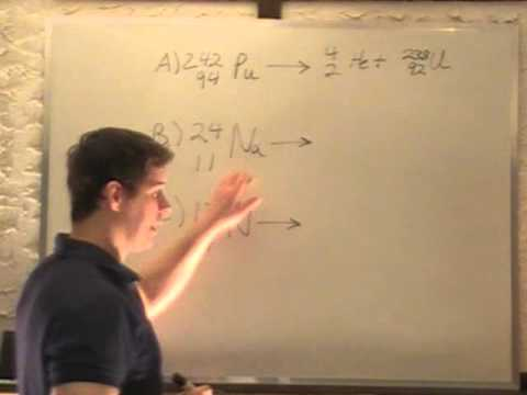 Particle Physics - Radioactive Decay