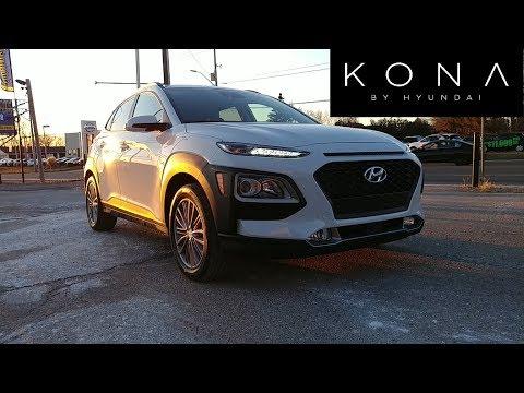 All new 2018 Hyundai Kona Lane keep assist tested