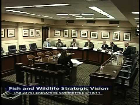 Fish and Wildlife Strategic Vision Executive Committee Hearing 8/10/2011
