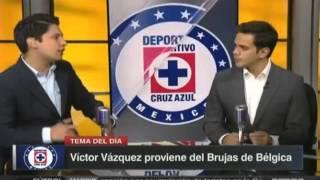 Joffre Guerron reporto con Cruz Azul -- ESPNRF