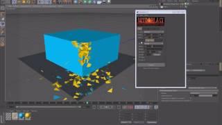 Уроки Cinema 4D: Использование плагина Nitroblast в Cinema 4D