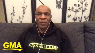 Mike Tyson shares details of his return to boxing l GMA