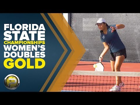 Pro Women's Doubles Gold Medal Match from the Florida State Championships 2017