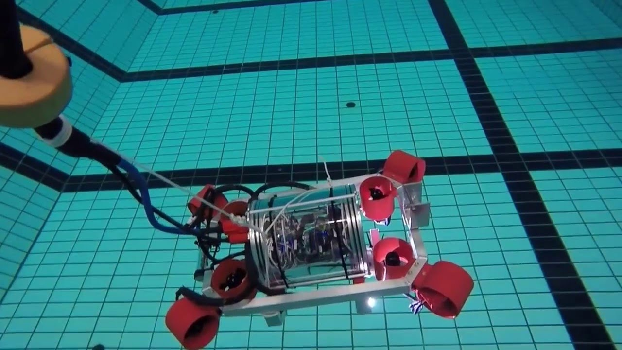 Subsea ROV Has 6 Degrees Of Freedom + Autopilot | Hackaday