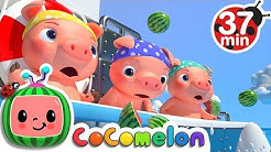 Three Little Pigs (Pirate Version) + More Nursery Rhymes - CoComelon