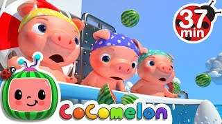 Three Little Pigs 2 (The Big Ship Sails on the Alley Alley Oh) | +More Nursery Rhymes - CoCoMelon