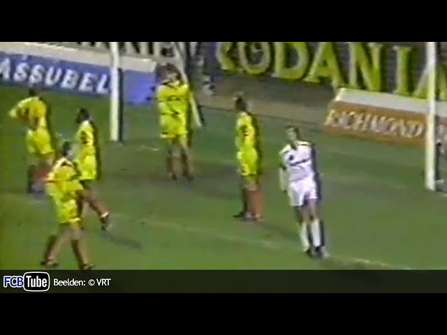 1991-1992 - Jupiler Pro League - 10. Club Brugge - Germinal Ekeren 0-0