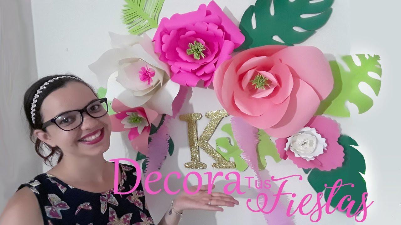 decoracion de cumplea os estilo tropical s o s cumplea os youtube. Black Bedroom Furniture Sets. Home Design Ideas