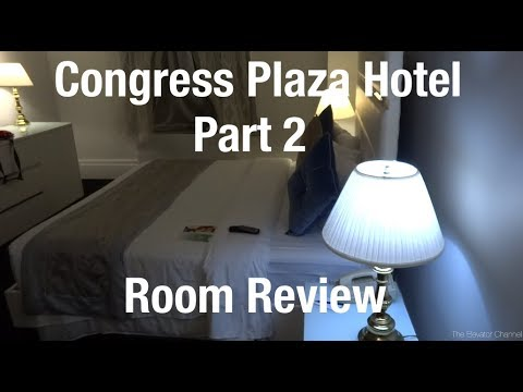 Room Review - Congress Plaza Hotel, Chicago IL