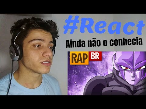 React RAP DO HITTO (DRAGON BALL SUPER) RAP TRIBUTO - Player Tauz