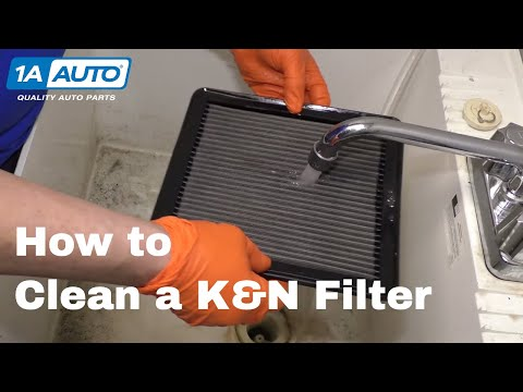 How to Clean K&N Filter