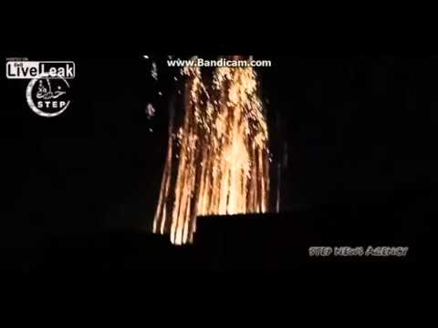 Russia Drops White Phosphorous on ISIS (LIVE VIDEO)