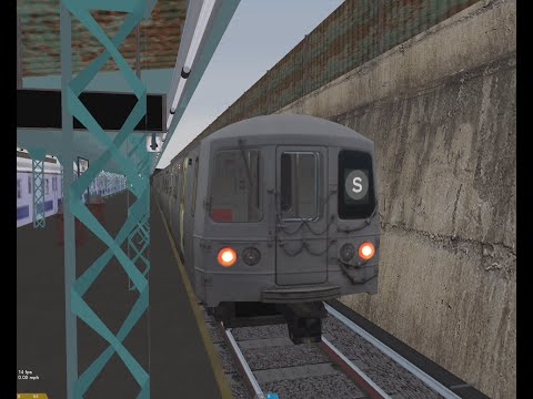 OpenBVE HD: R46 On The (1969 Franklin Ave Shutle)