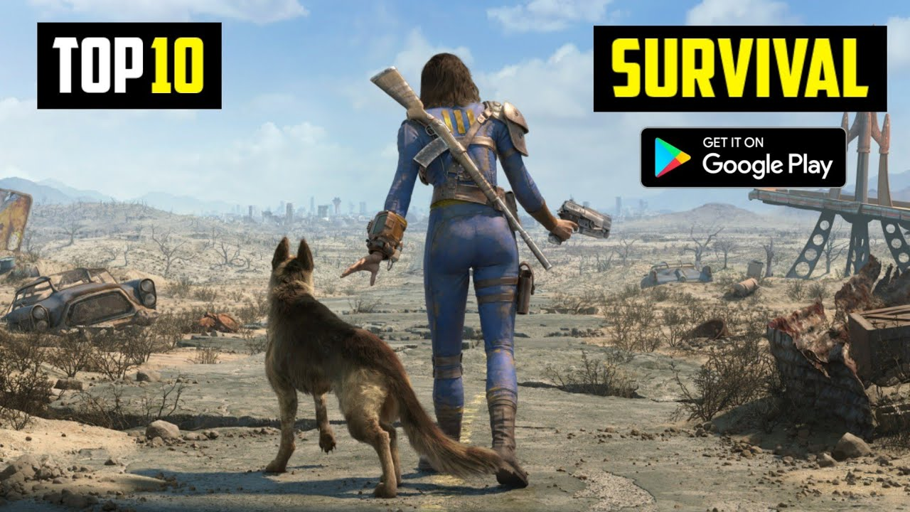 Top 10 Best SURVIVAL Games For Android 2021 | High Graphics (Offline/Online)