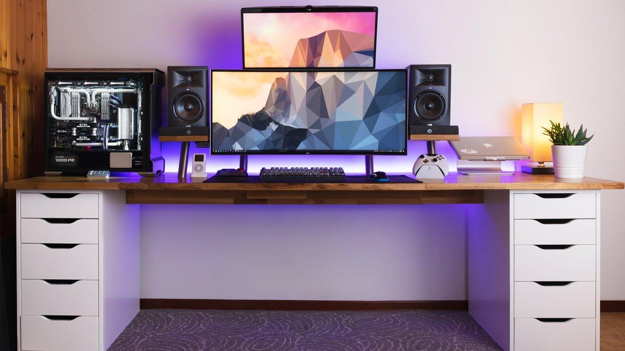 AMAZING Dual Monitor Setup - Setup Spotlight
