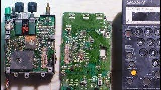 Vintage 1987 Sony ICF Pro70 Repair/ Restoration Attempt