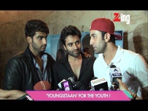 Young bunch Ranbir Kapoor, Jackky Bhagnani & Arjun Kapoor - Bollywood Life