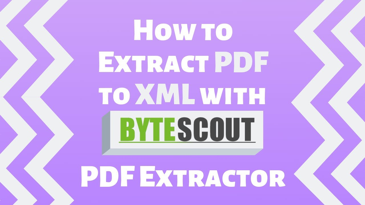 Bytescout C# Extractor SDK - Easy Way to Extract Images from PDF