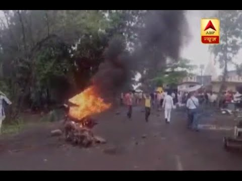 Thane farmers protest turns violent at...