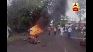 Video Thane farmers protest turns violent at Thane-Badlapur highway download MP3, 3GP, MP4, WEBM, AVI, FLV Juni 2017