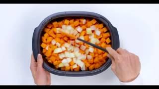 Видео рецепт Запеканка из тыквы в ультра про с орехами