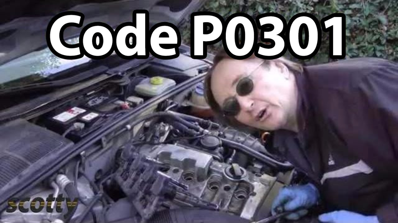 Misfiring Engines With P0301 Code - YouTube