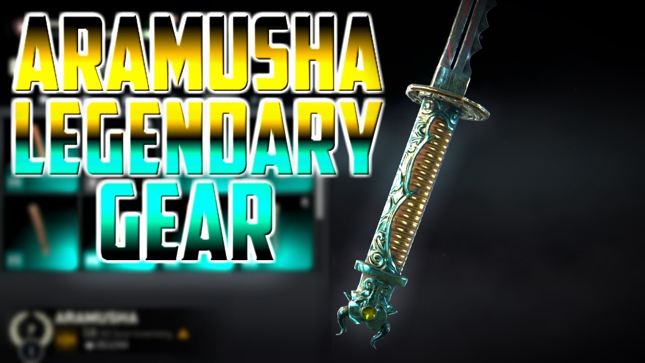 For Honor Halloween Event 2020 Gear For Honor] Aramusha Legendary Gear Showcase! Gear, Ornaments