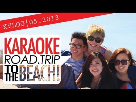 OK LIFE | KARAOKE ROAD TRIP TO THE BEACH