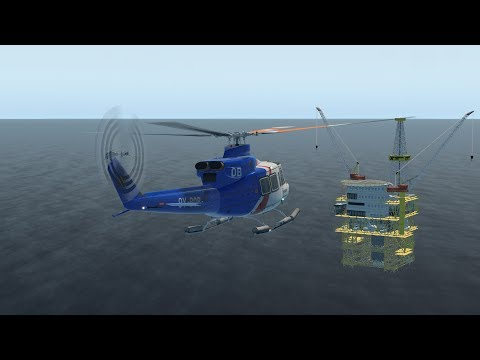 X Plane 11 Exxon Mobil Malaysian Offshore Operations
