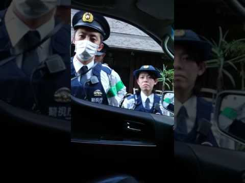 警官が交通違反ついでに車内検査で点数稼ぎしようとした動画
