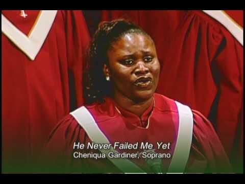 He Never Failed Me Yet - HBBC Sanctuary Choir