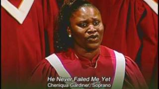 He Never Failed Me Yet - HBBC Sanctuary Choir