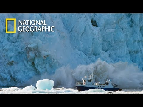 Chain Reaction after a Glacier Falls to Sea|National Geographic