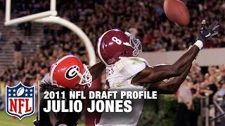 Julio Jones' 2011 NFL Draft Profile | Throwback Thursday | Super Bowl LI | NFL