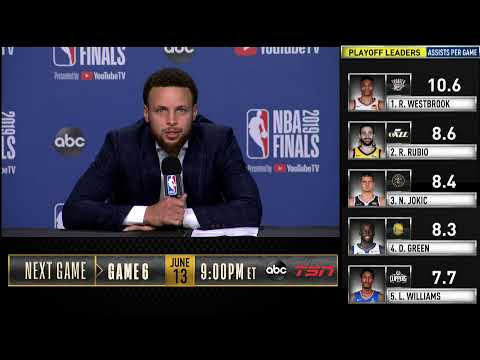 Stephen Curry Press Conference | NBA Finals Game 5
