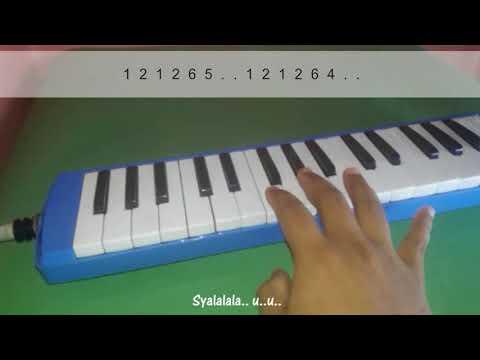 Ninja Opo Vespa - Nella Kharisma (Pianika Cover dan Notasi Angka) Melodica