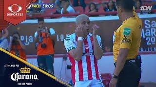 Gol anulado de Fernández | Necaxa 0 - 0 Pachuca | Clausura 2019 - J15 | Presentado por Corona