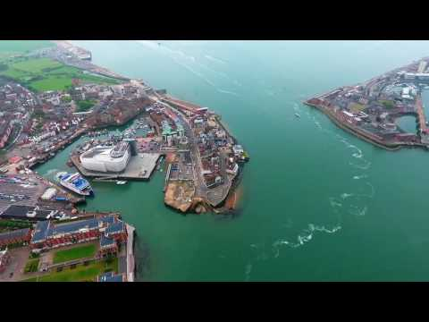 PHANTOM 4 OVER PORTSMOUTH & SOUTHSEA