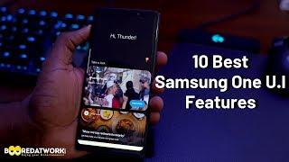 10 Best Samsung One U.I Features!