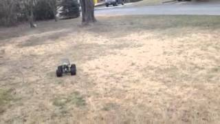 Brushless Clod first drive ramp test