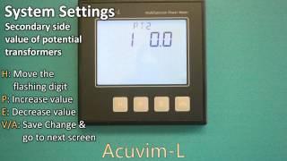 How to Program Acuvim-L Series Power Meters [Accuenergy]