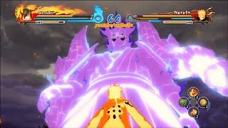 Naruto Ultimate Ninja Storm Revolution (60 FPS) Rinnegan Perfect Susanoo Sasuke Moveset Mod (PC)