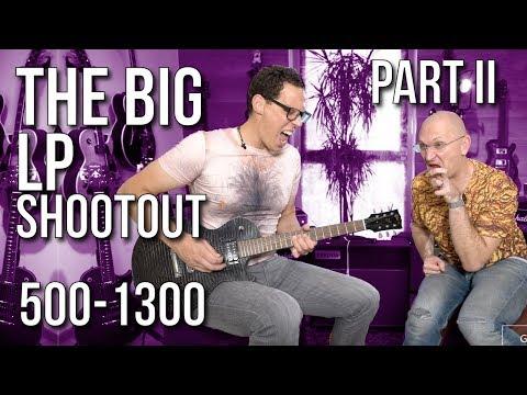 The Big Les Paul Shootout Part II - Guitars From €500-€1300