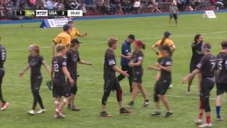 WUGC 2016 - Australia vs USA Mixed Gold Medal Game