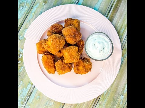 Chicken Nuggets with Yogurt Dip
