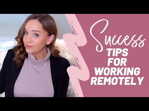 WORK FROM HOME: 10 Tips to ACTUALLY Get Something Done | Amy Landino - YouTube