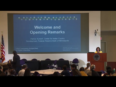 Tribal Community Perspectives on Higher Education Conference - Day 1